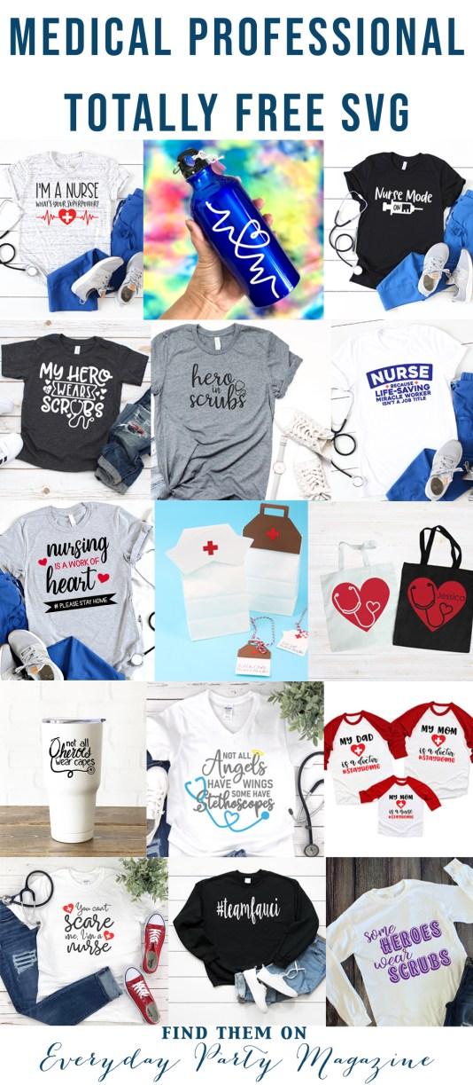 Health Care Appreciation SVG Files