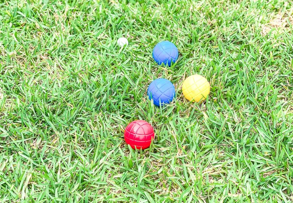Bocce Ball Game