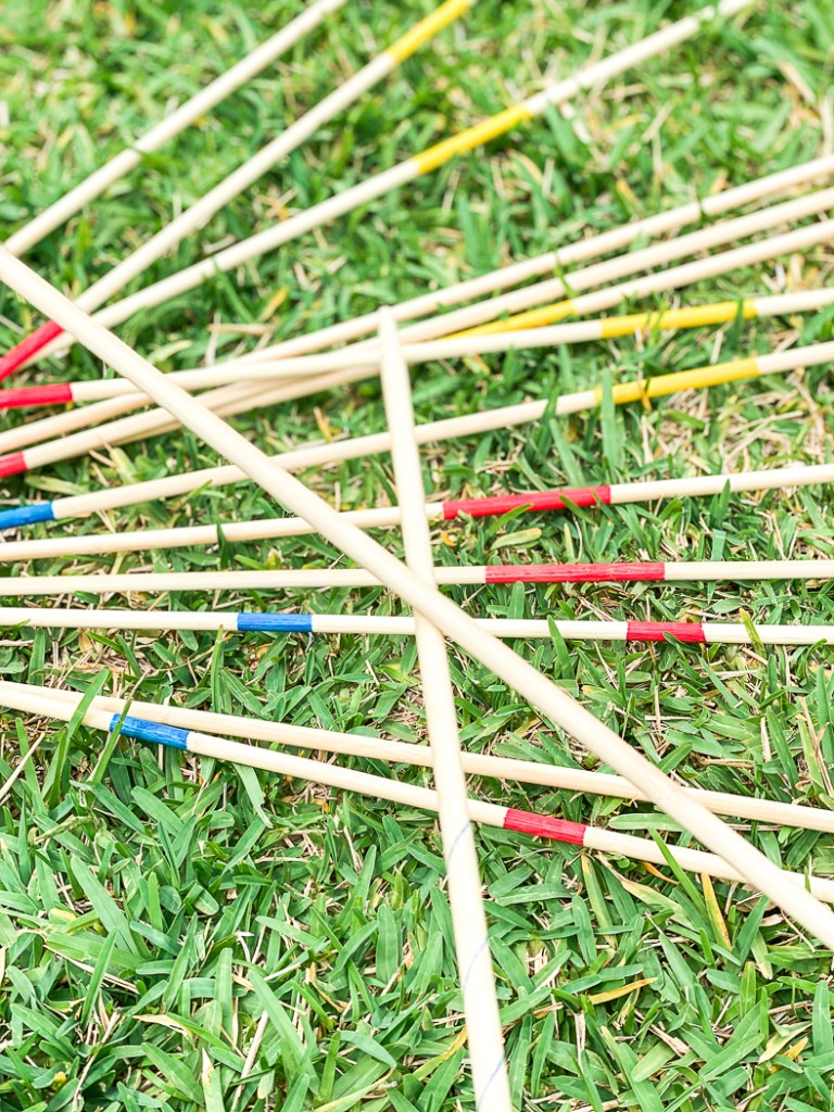 Learn to play pick up sticks