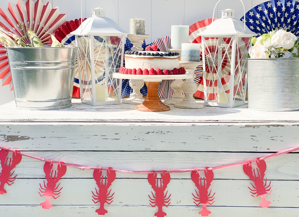 Patriotic Dessert Table