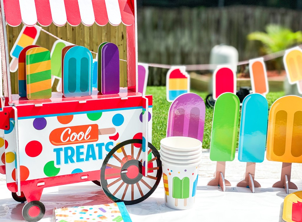 Popsicle Party Decorations