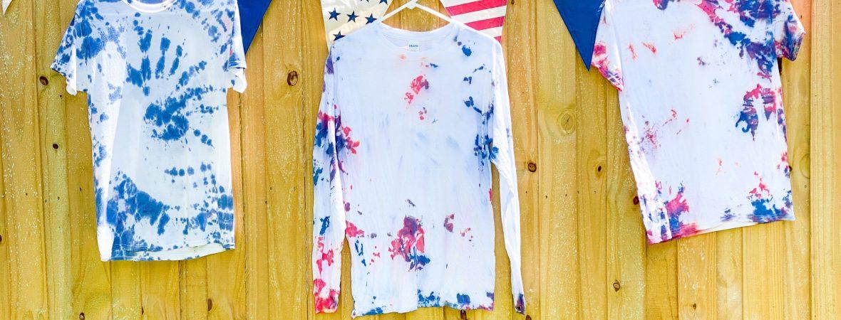 Patriotic Tie Dye Shirts