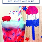 4th of July Slushy Drink