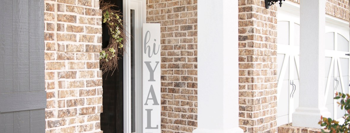 Porch Sign DIY