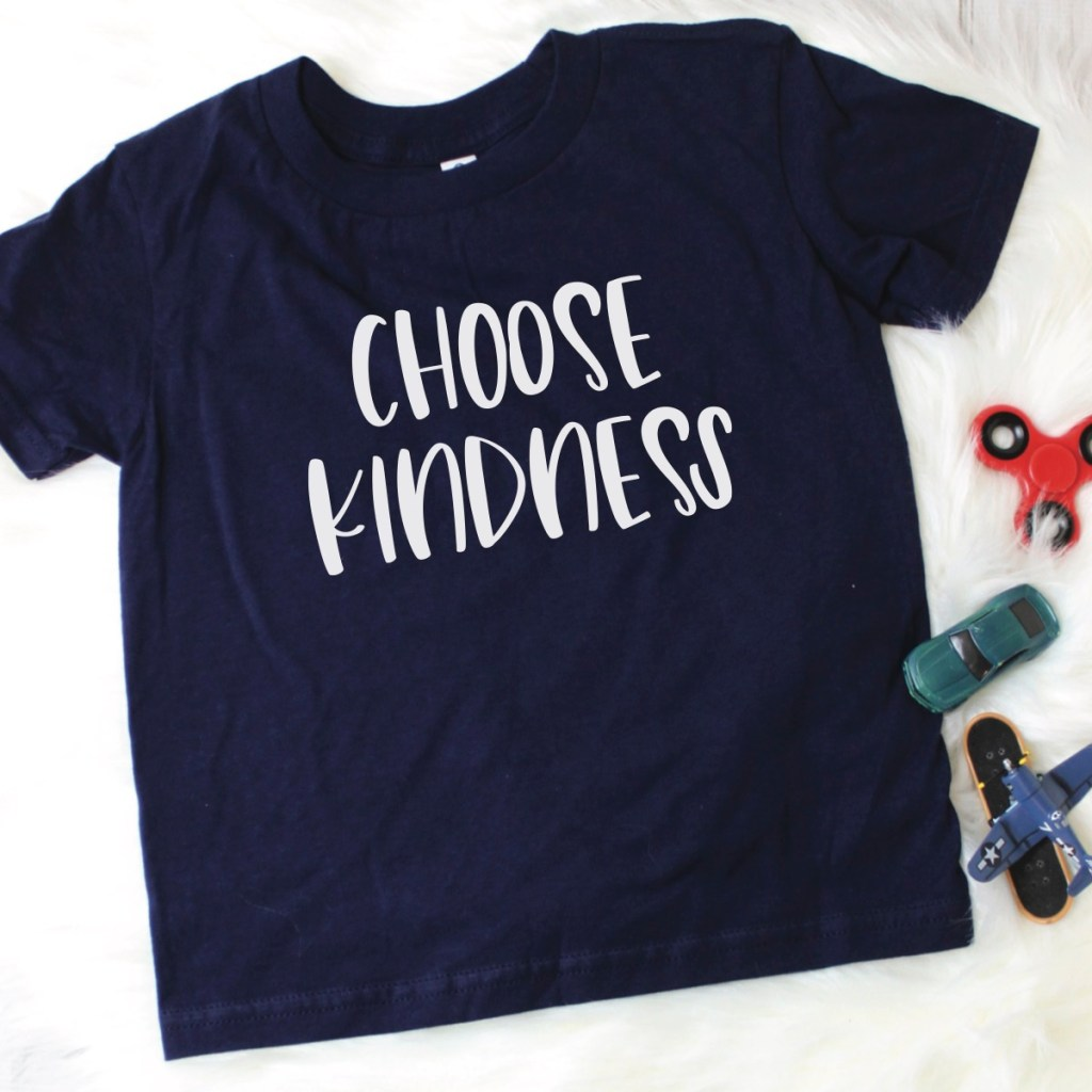 Choose Kindness Kids Shirt
