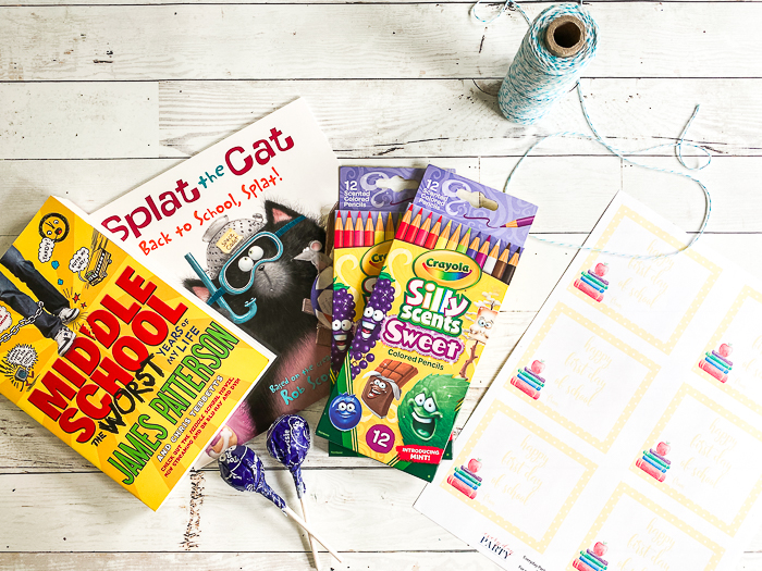 Splat the Cat Book Silly Scents Crayola