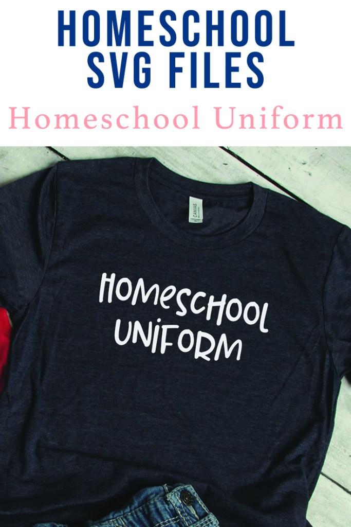 Homeschool SVG Idea