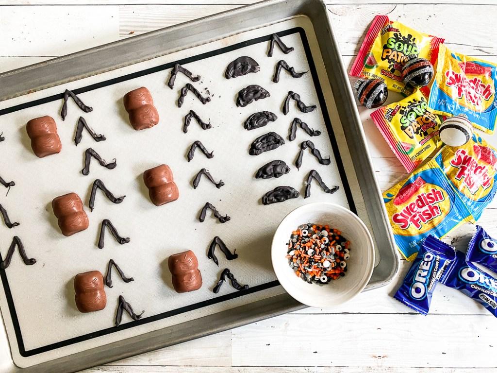 DIY Halloween Candy Creatures