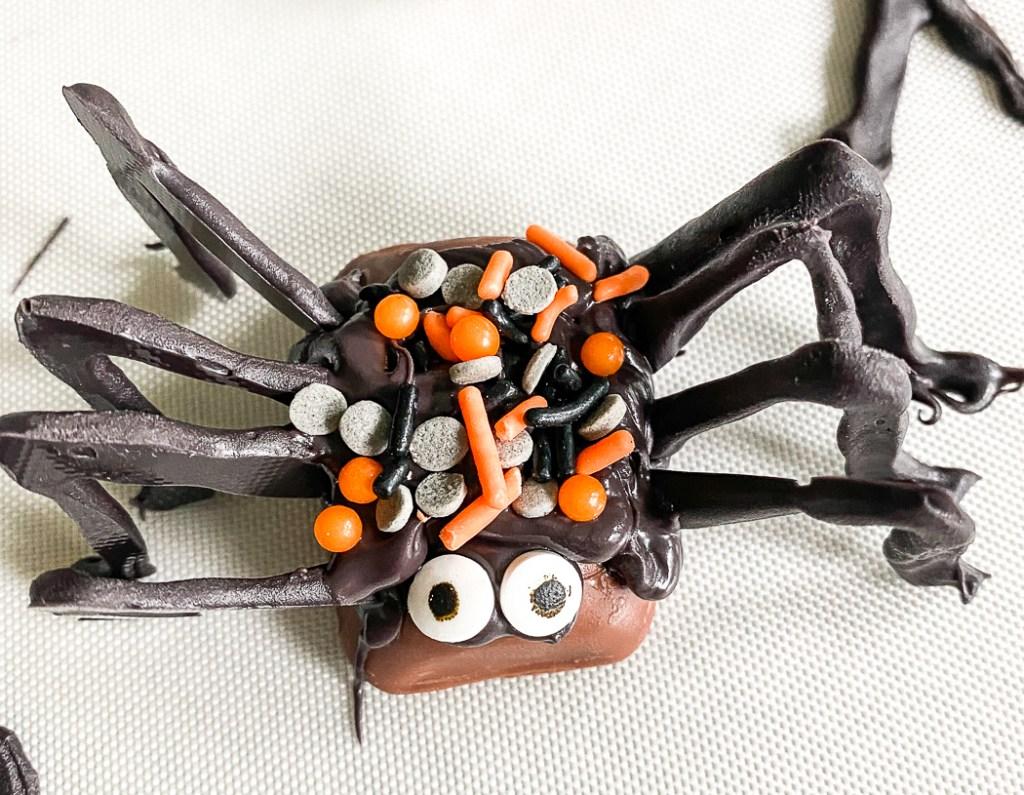 Halloween Candy Spider