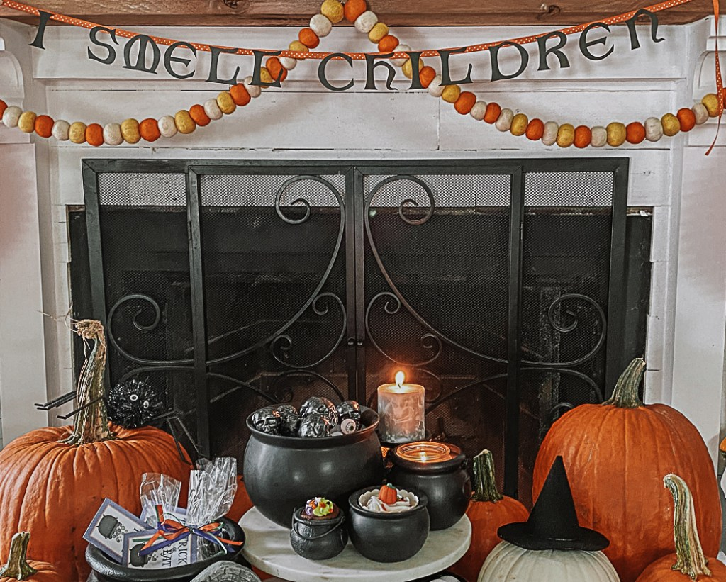 Fire Place Kids Halloween Party
