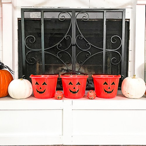 Pumpkin Halloween Buckets