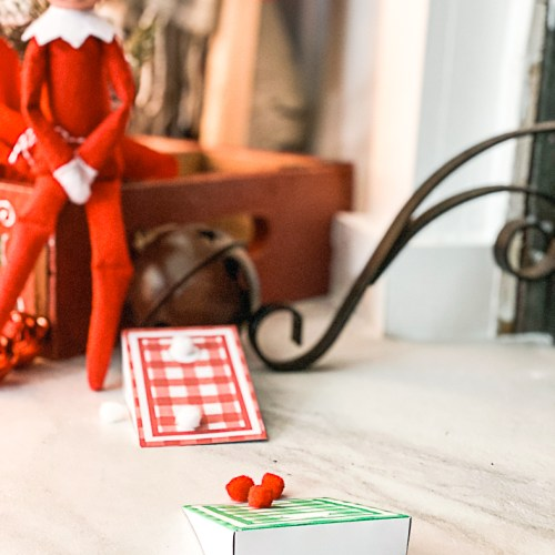 Printable Elf on a Shelf Games