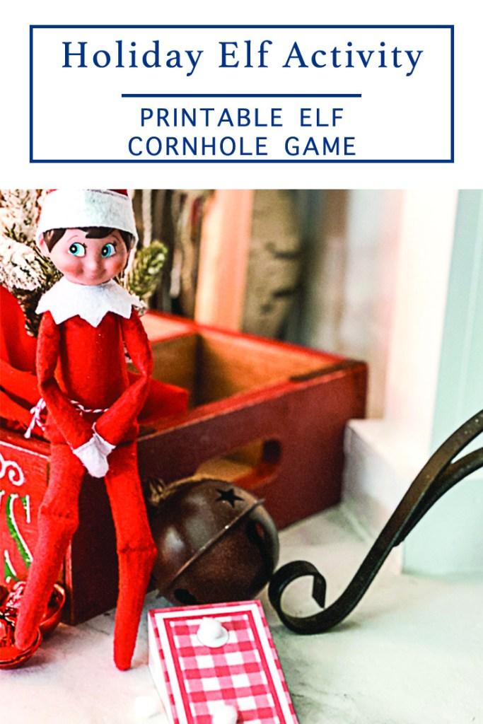 Elf on the Shelf Corn Hole
