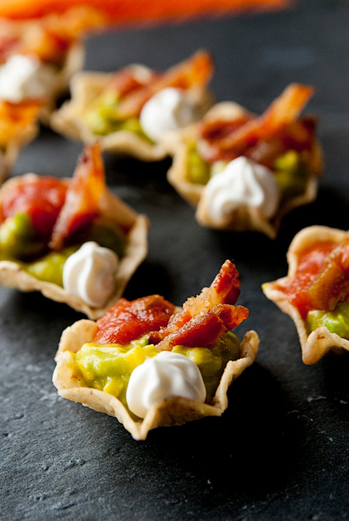Bacon and Guacamole Appetizer