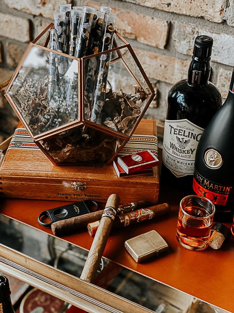 Cigars Tobacco Leaves Cognac