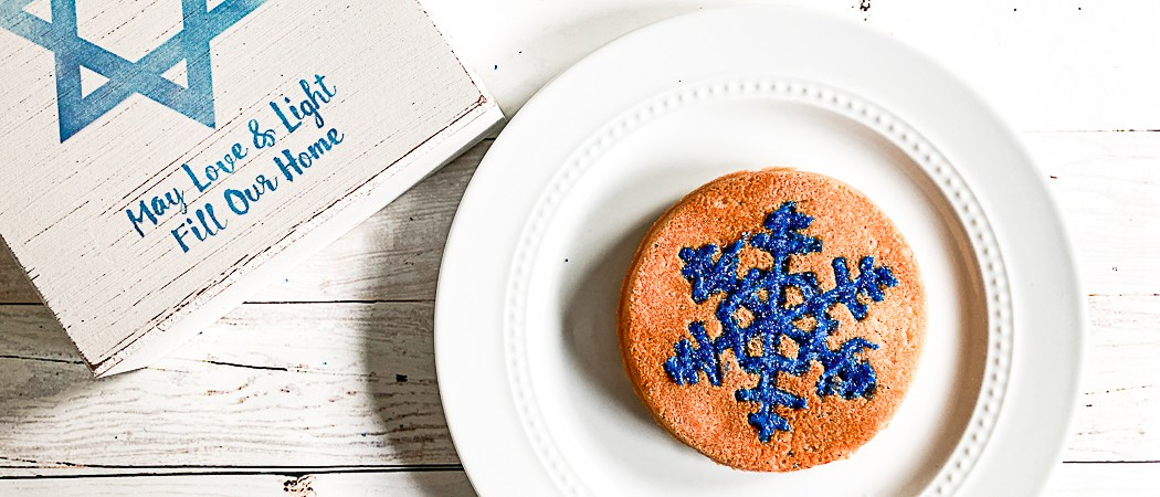 Snowflake Cookie Hanukkah Sign