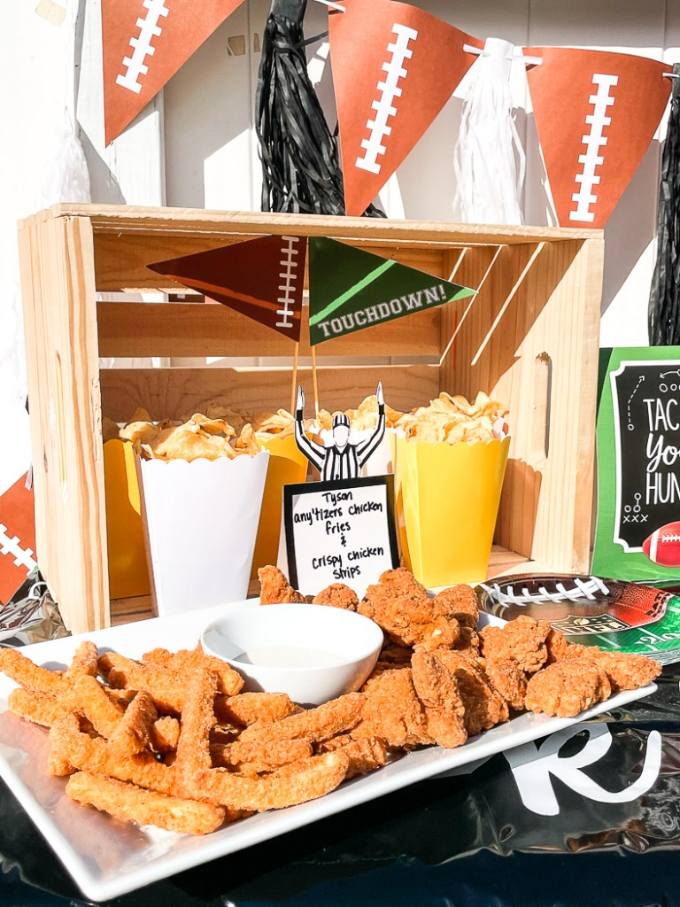 Fried Chicken Football Party Food