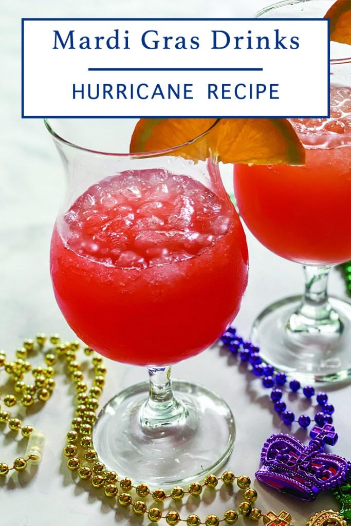 Homemade Hurricane Cocktail
