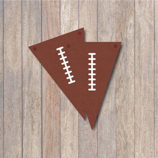 Football Banner Printable
