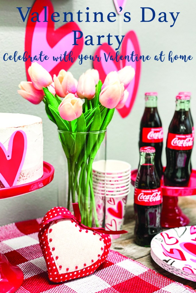 Valentine's Day Movie Night Coca Cola Tulips