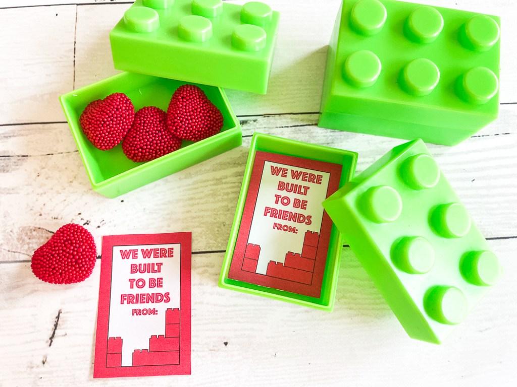 Valentine LEGO Bricks