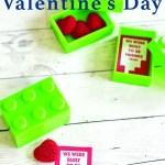 Printable LEGO Valentine