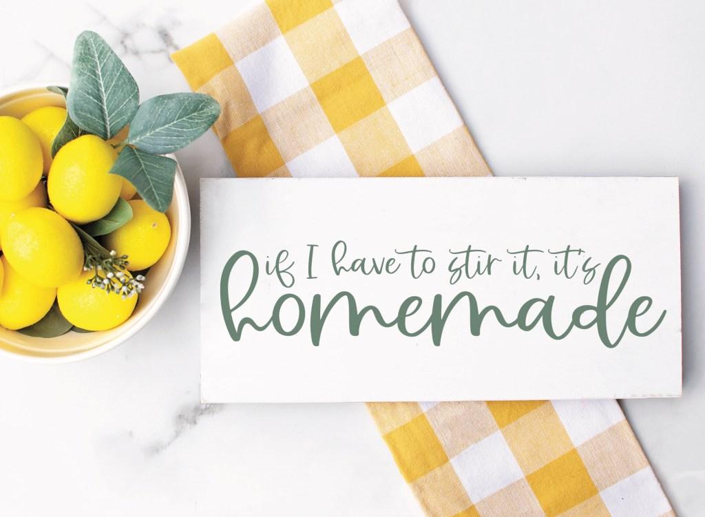 Lemons Kitchen Sign
