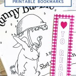 Kids book and bookmark