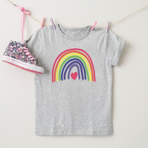 Adorable Hanging Rainbow Shirt
