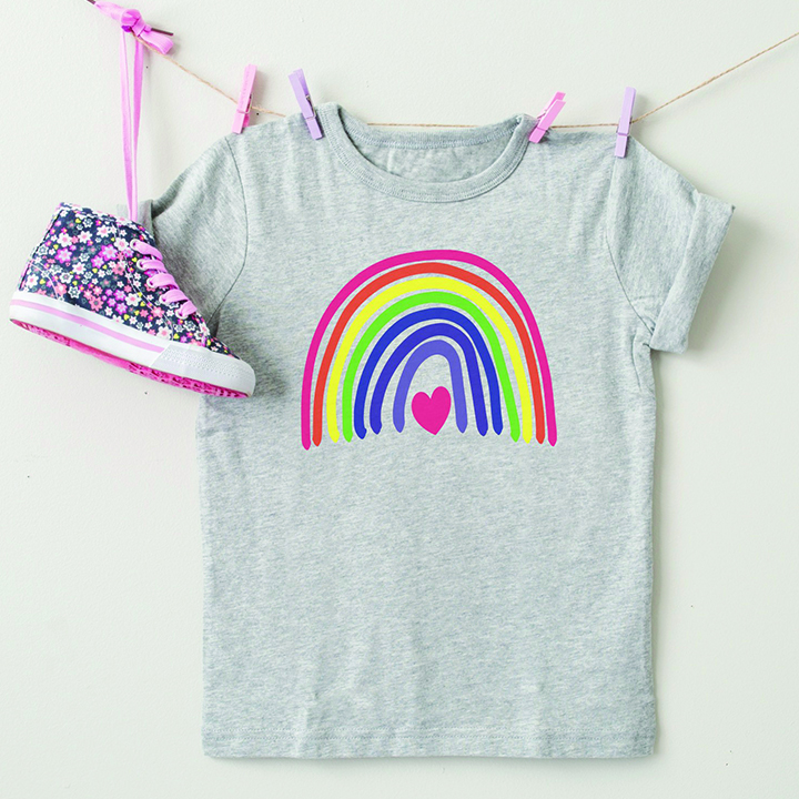 DIY Rainbow Shirt