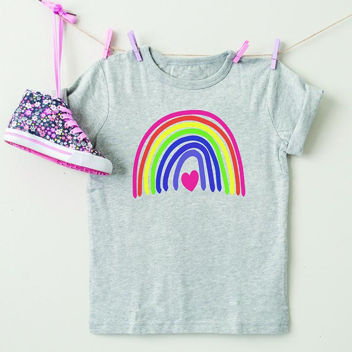 DIY Rainbow Shirt