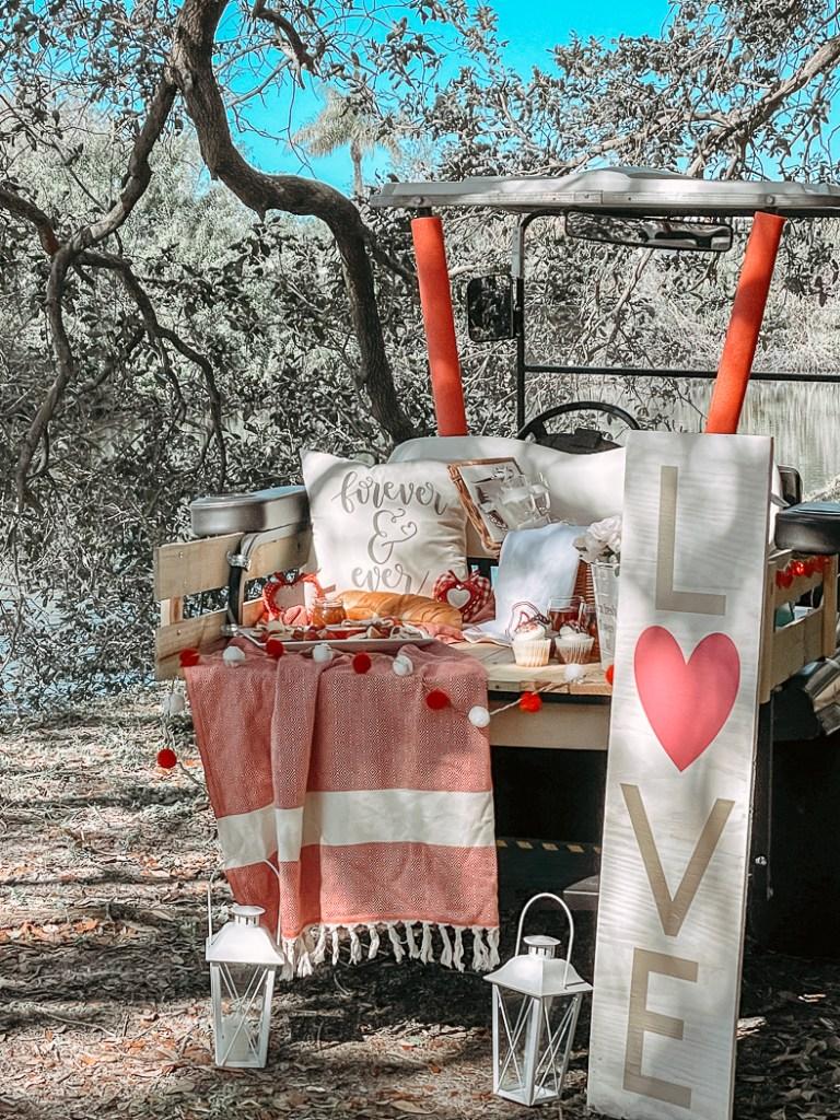 EZGO Golf Cart Valentine Parade