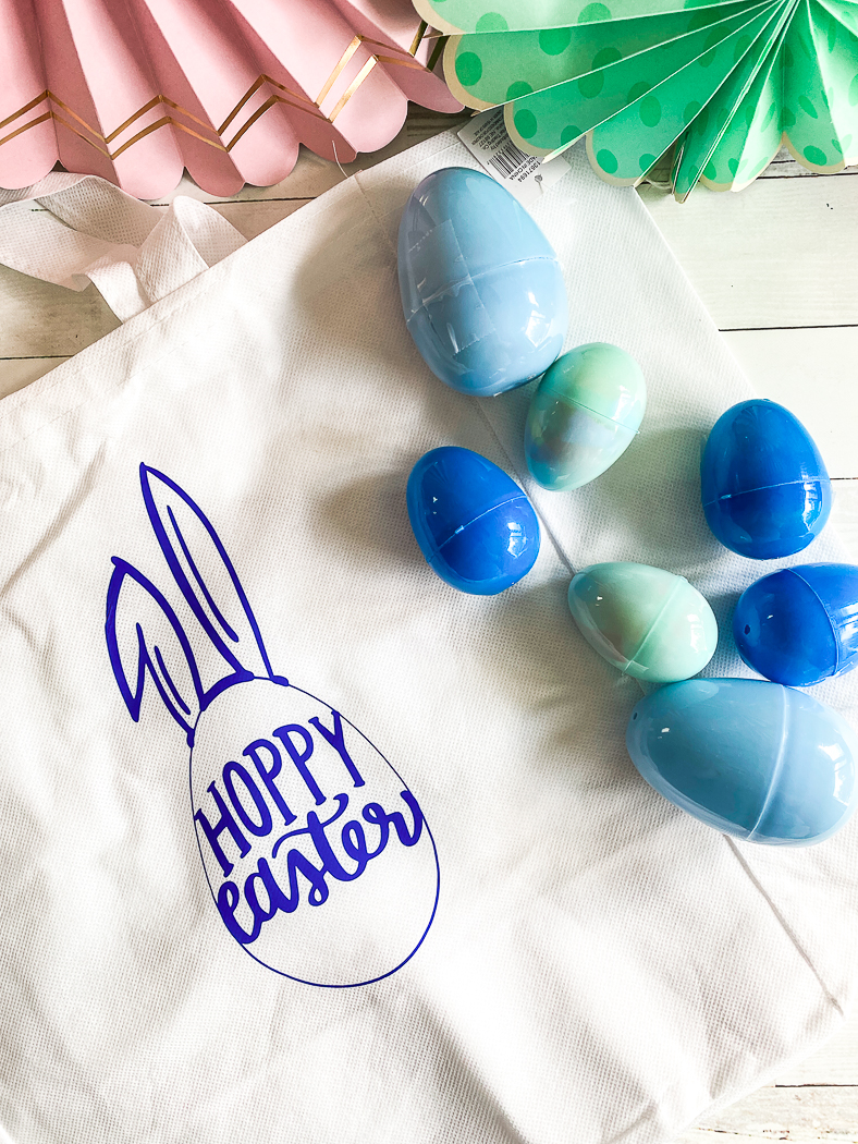 Easter eggs, easter tote