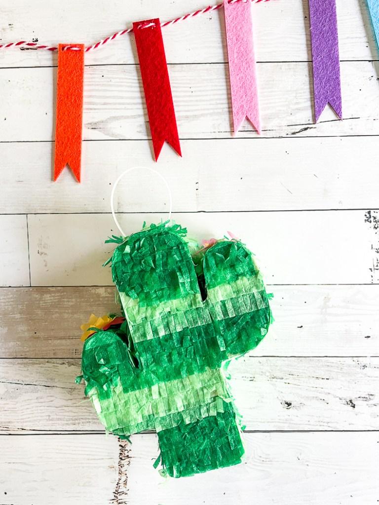 Cactus Piñata Favor