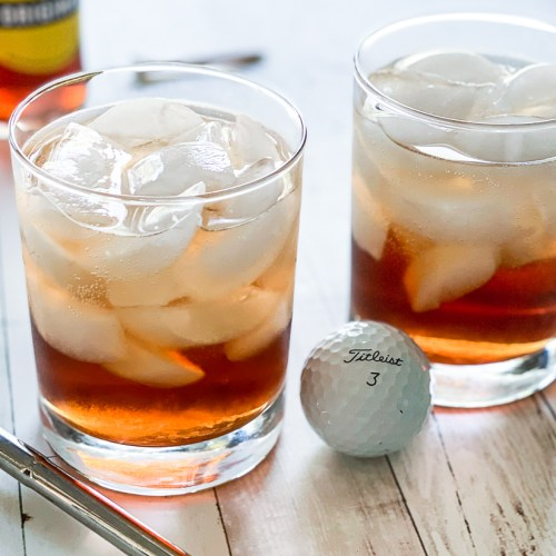 Cocktails and Golf