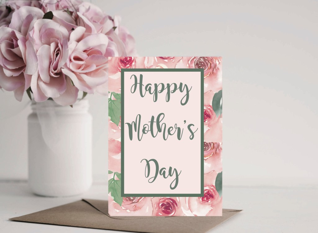 Mother's Day Card Flowers