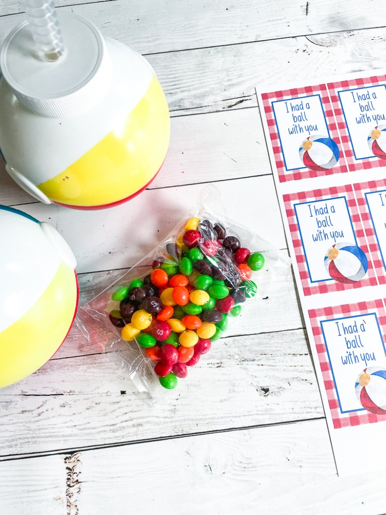 Printable Tags Colorful Candy