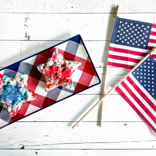 Star Snacks US Flags