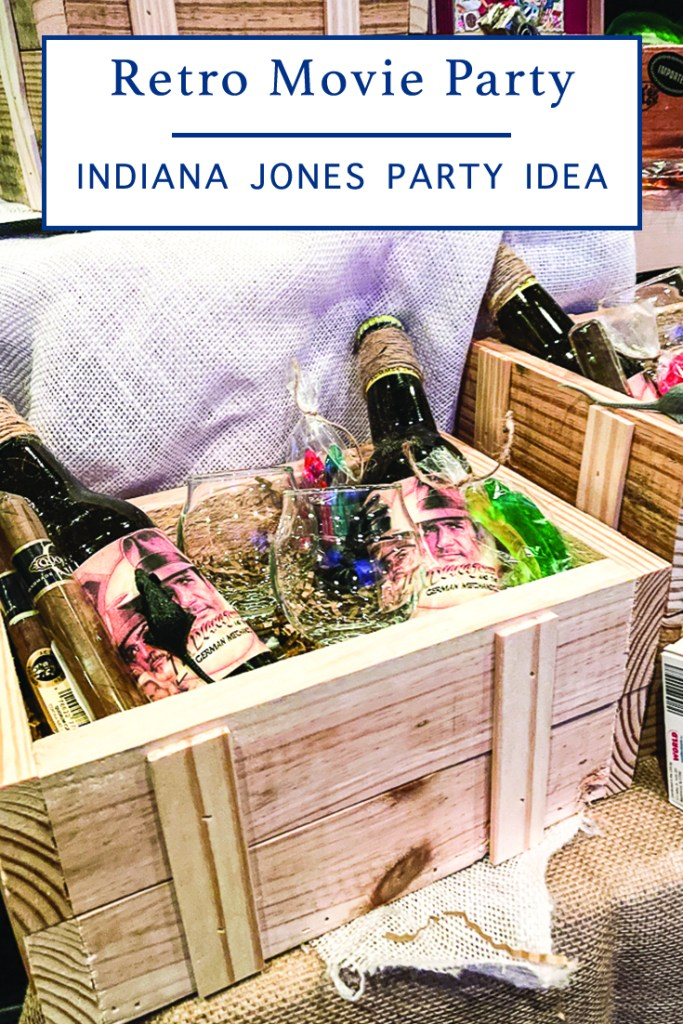 Wooden Crate Party Favor