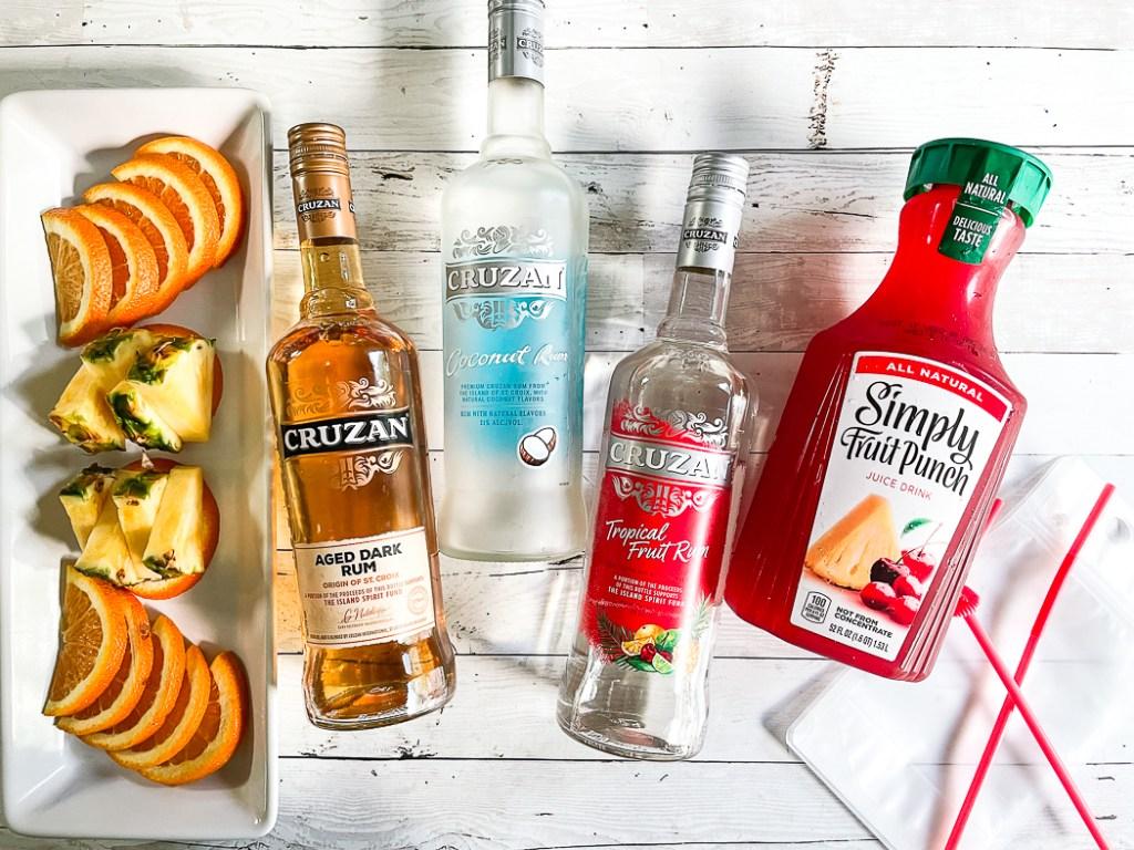 Cruzan Rum Fruit Punch