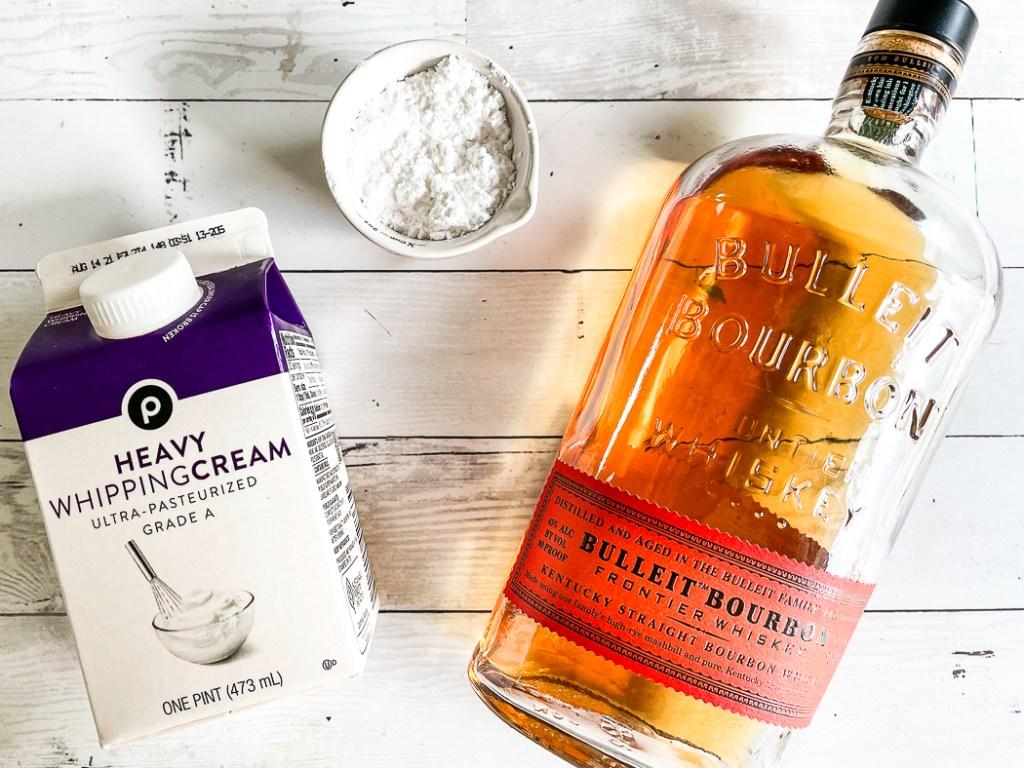 Heavy Cream Bulleit Bourbon