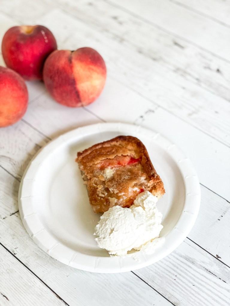 Peaches Peach Cobbler