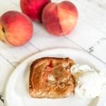 Cookie Cobbler Peaches Ice Cream