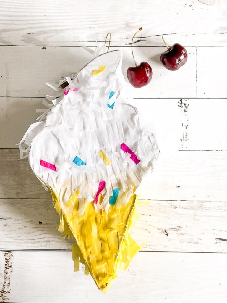 Ice Cream Piñata Cherries