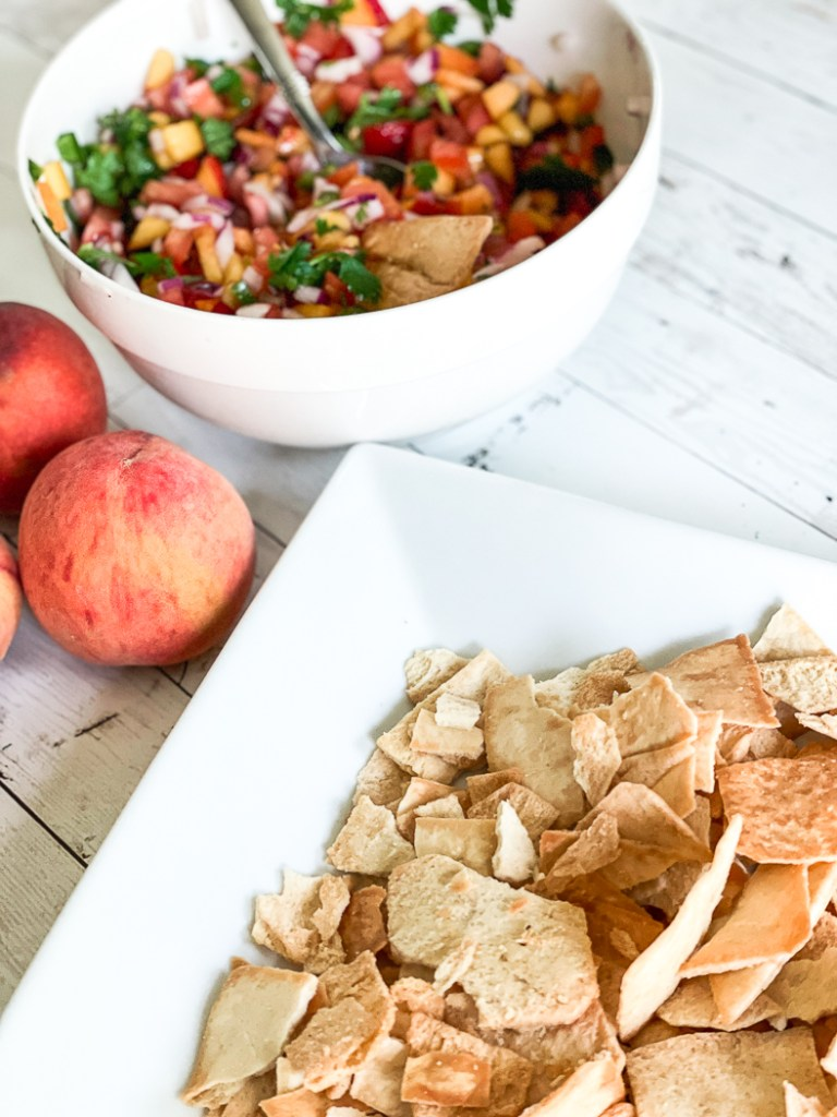 Pita Chips and Salsa