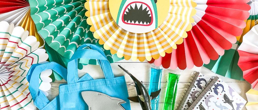 Shark Party Favor Ideas