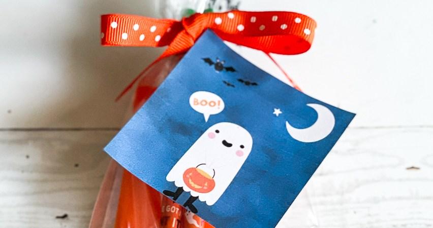 Halloween Favor Bag