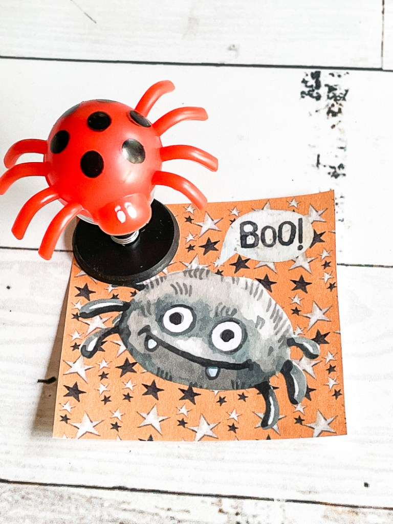 Spider Halloween Tags