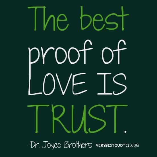 Life Trust Quotes: 17 Amazing Inspirational Picture Quotes!