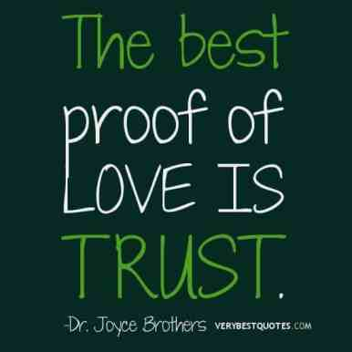 inspirational picture quotes on love and trust
